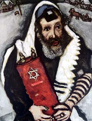 Rabino con Torá