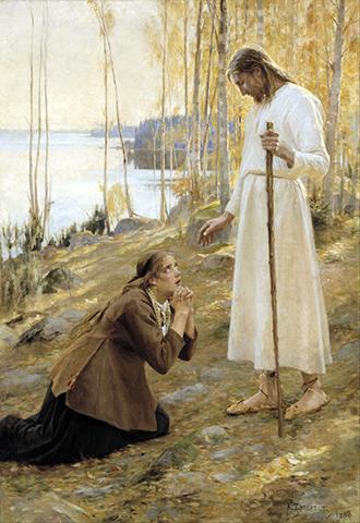 Cristo y Maria Magdalena