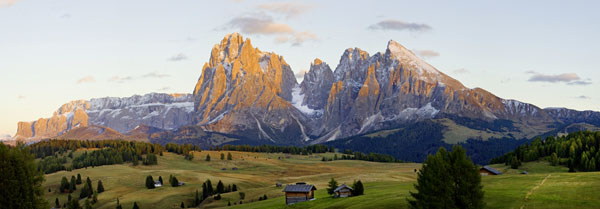 Alpes Suizos y Dolomitas - Peter Adams