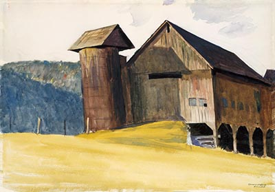 Barn and Silo,Vermont
