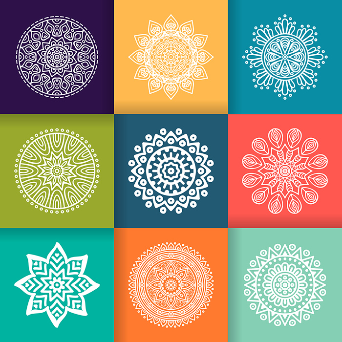 Collage de Mandalas