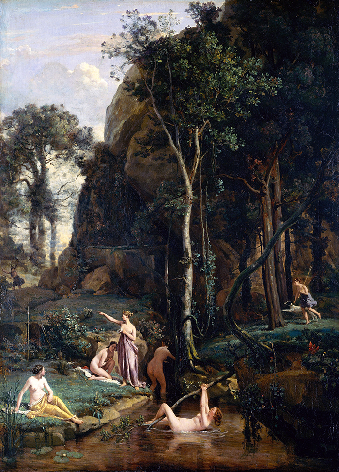 Diana y Actaeon