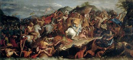 La batalla del Granico