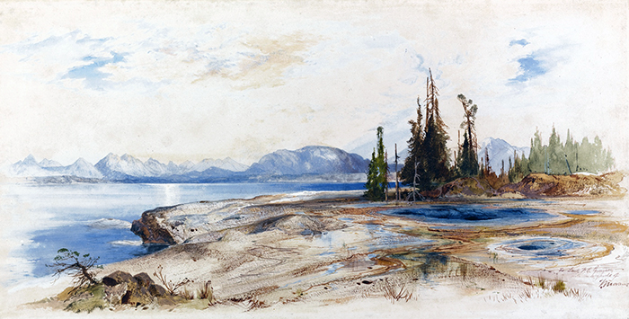 Lago Yellowstone