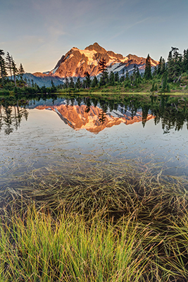 Lago en Washington