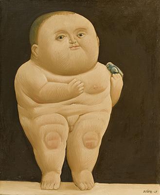 Niño Con un Pajaro