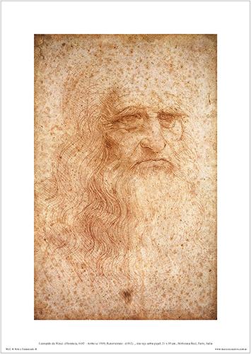 Autorretrato Leonardo Da Vinci