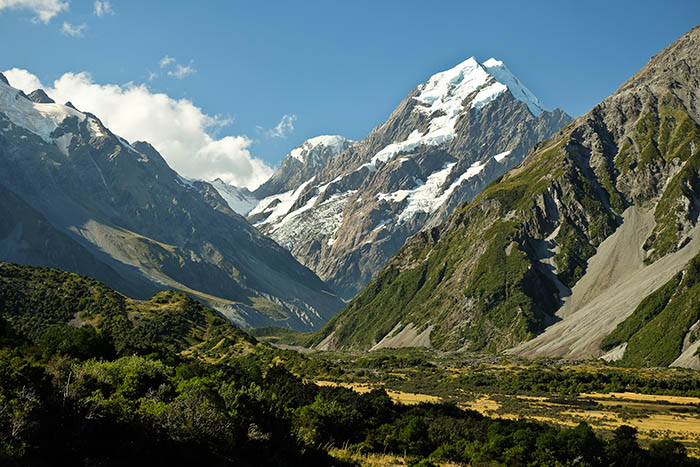 Monte Cook y Hooker Valley
