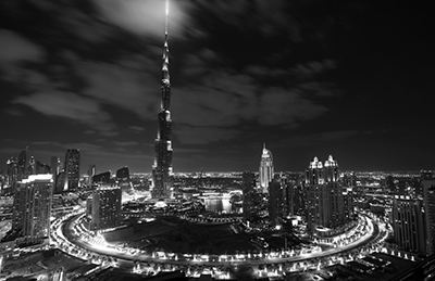 Night Dubai ByN