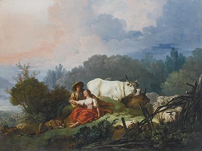 Paisaje Pastoral