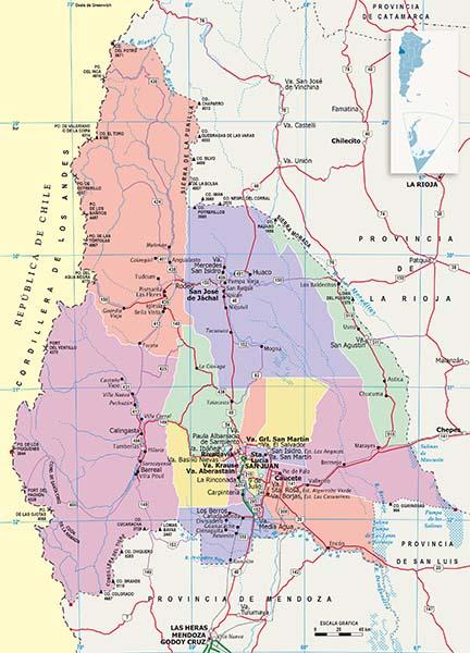 Mapa Politico San Juan