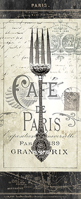 Tenedor Café París