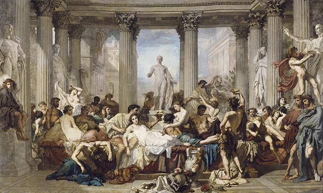 La Decandencia de los Romanos