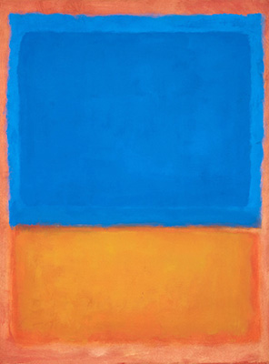 Sin titulo - Red Orange Blue - 1955