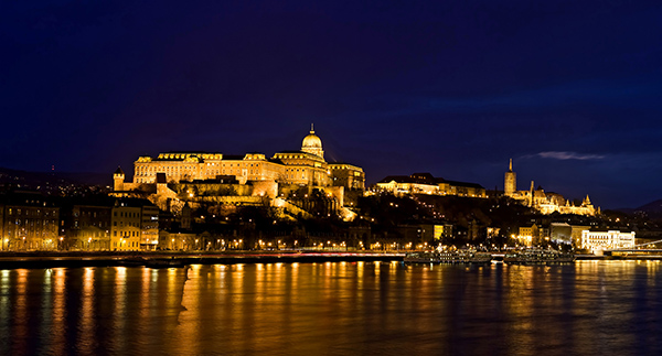 The Royal Palace, Budapest