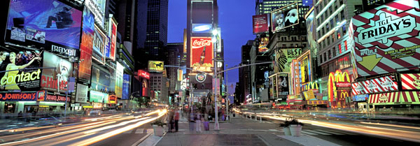 Times Square, NYC - Richard Berenholtz