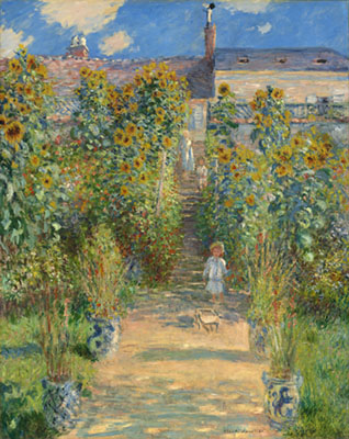 El jardin del artista en Vetheuil