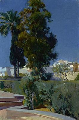 Jardines de Alcazar Sevilla