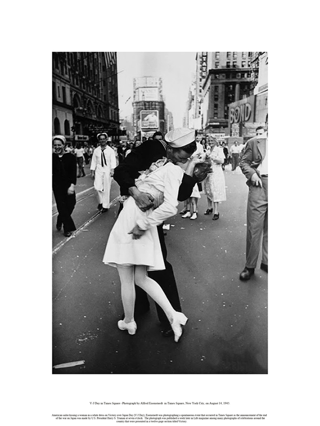 Beso V-J Day in Times Square