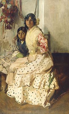 Pepilla la gitana y su hija
