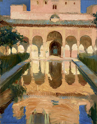 Sala de embajadores Alhambra Granada