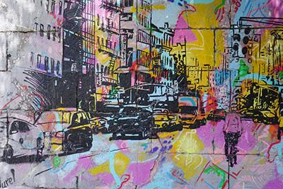 Ciudad a colores