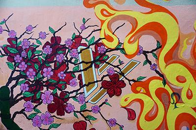 Flores a colores
